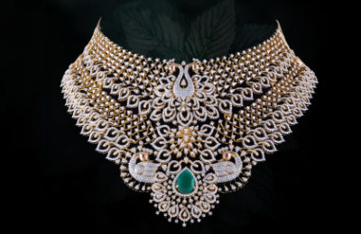 b384e58ea891f uncut diamond necklace price Archives | Krishna Pearls - Gold ...